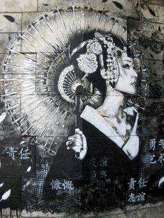 Geisha. Tattoo idea