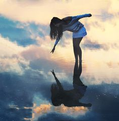 Surreal Photography Inspiration. Reflections in the water.