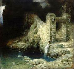Ferdinand Keller — Nymphe an der Quelle