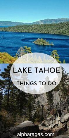 Get the complete travel guide to Lake Tahoe |Things to do in Lake Tahoe |Lake Tahoe vacation|lake Tahoe beaches |California |Nevada|Lake Tahoe with kids Sand Harbor|Emerald bay|lake Tahoe hikes #southlaketahoe#travel Sand Harbor Lake Tahoe, Emerald Bay Lake Tahoe, South Lake Tahoe, California Travel Guide, Places In California, Visit California, Cool Places To Visit, Places To Go, Sacramento Zoo