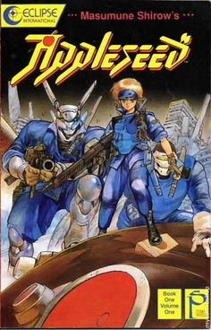 """Masamune Shirow's Appleseed """"Book One, Volume 1"""" (1988)"""