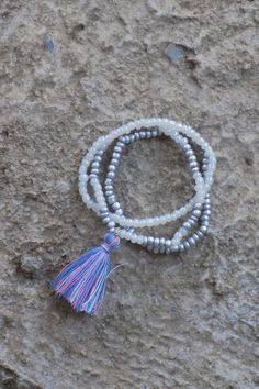 Multi Tassel Bracelet Set