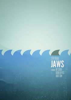 Jaws - minimal movie poster