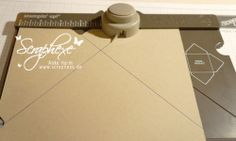 How to make a box using the Envelope Punch board