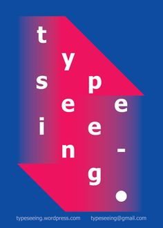 typeseeing is a book collecting thoughts on typography around the world. you can ad your own voice to this small anthology anytime!  www.youtube.com/watch?v=c0GpJG5NcKE  #graphicdesign #typography #art #inspire
