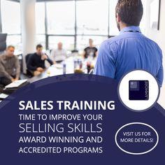 Sales Training Program - Time to Improve Your Selling Skills #LowCostSalesTraining #OnlineSalesTraining #CorporateSalesTraining