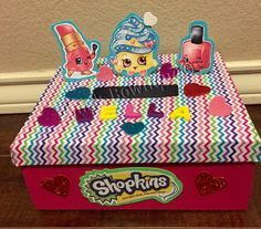 Shopkins valentines box