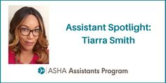 Introducing our August Assistant Spotlight: Tiarra Smith. Tiarra is from Searcy, Arkansas. As an assistant, she loves the excitement of her students and how eager they are to participate and have a desire to better their communication skills. What does Tiarra most value about her partnership with her supervisor? Her supervisor is also her friend! They collaborate and make sure to provide everything that their students need. She is an example of getting the job done and not just at a fast…