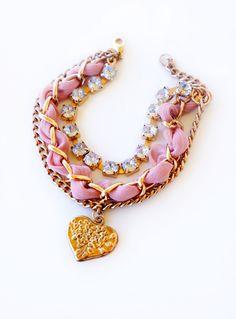 Final mother's day silk chain bracelet