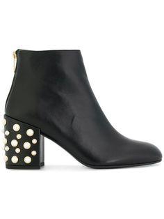 edba59e230 STUART WEITZMAN pearl embellished ankle bloots.  stuartweitzman  shoes    Cute Boots