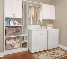 ikea laundry room ideas, like the storage areas. Laundry Storage, Laundry Mud Room, Storage Cabinet Shelves, Ikea Cabinets, Laundy Room, Laundry Room Cabinets, Laundry, Ikea Laundry Room, Room Storage Diy