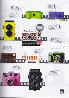 Spotted: Lomography Cameras and Merchandise in Teenage Singapore!