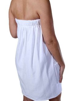 Buy towel wrap for women at CottonAge at wholesale prices! Ladies bath wrap is made of cotton terry cloth and features velcro closure to feel comfortable. Easy Sewing Projects, Sewing Hacks, Sewing Tutorials, Sewing Patterns, Apron Patterns, Sewing Tips, Pattern Draping, Handbag Patterns, Team Wear