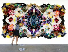 skin rugs made from old stuffed animals. so sad, but yet so awesome!