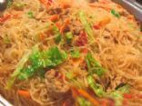 My favorite cornstarch noodle recipe of all time, very satisfying and full of fresh veggies! Gluten free!