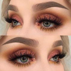 "1,315 curtidas, 6 comentários - @helenesjostedt no Instagram: ""I used @inglot_cosmetics eyeshadows 616, 300 and 303 + body sparkles 65 | @dependcosmetic eyebrow…"""