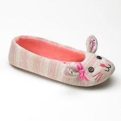 SO Bunny Ballerina Slippers