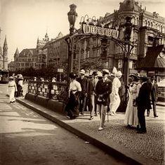 Berlin 1913 U-Bahnhof Zoologischer Garten (Hardenbergplatz)