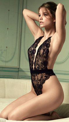 Victoria's Secret Angel Barbara Palvin looks Parisian chic.