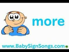 ▶ Baby Sign Language: More Milk Please - YouTube