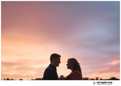 red apple tree photography: Furman University Engagement with Courtney + Brandon