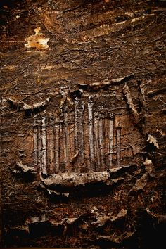 Burning Rods by Anselm Kiefer, at the St. Louis Art Museum. One of my favorite pieces.