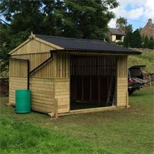 Our Birch Tree Cottage Workshop, Windy Fell Field Shelter with additional guttering to fit water butt. Coal Bunker, Field Shelters, Bin Store, Wooden Garden, Stables, Outdoor Living, Workshop, Shed, Cottage