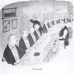 """The Usual"" by Charles Addams. Original Addams Family, Addams Family Cartoon, Gahan Wilson, Playboy Cartoons, John Kenn, Charles Addams, Morticia Addams, Adams Family, Comic"