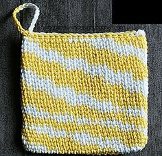 Waistcoat Stitch Potholder by Oombawka Design  Published in Oombawka Design by…