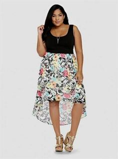 Nice plus size high low summer dresses 2018 Check more at http://24myfashion.com/2016/plus-size-high-low-summer-dresses-2017/
