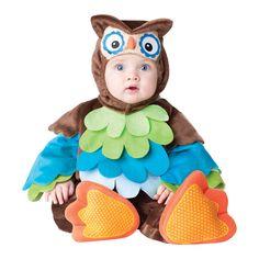 INCHARACTER COSTUMES REF: 6033 BUHO BEBE Incluye traje especial con cola para que cambies el pañal de tu bebe fácilmente, capucha removible, con ojos y nariz y botines antideslizantes. PRECIO COLOMBIA: 150.000
