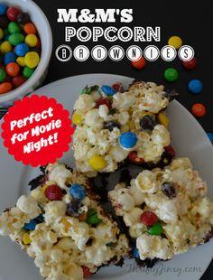 Popcorn, Indiana:  Popcorn Brownies