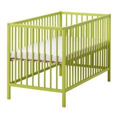SOMNAT Pinnasänky IKEA Sängyn pohja voidaan säätää kahdelle eri korkeudelle.