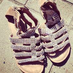 Søde glimmer sandaler på en glimmer onsdag :-)