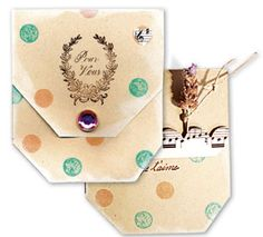 Tempting Template Challenge- template for Pocket Card at stampington.com