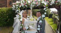 wedding doves  www.destinydoves.co.uk
