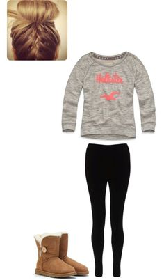 Hollister by maddie-kibbee on Polyvore uggcheapshop.com    $89.99  pick it up! ugg cheap outlet and all just for lowest price # boots for this winter