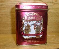 Canadian Ice Wine Tea - so delicious!