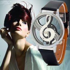 Fashion Leather Band Stainless Steel Sports Analog Quartz Women Mens Wrist Watch #pendoshopWholesale #Fashion