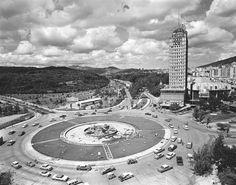 Plaza Venezuela, 1957