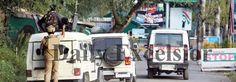 Terrorists attack army camp in Baramulla Uri. -Excelsior/ Abid Nabi