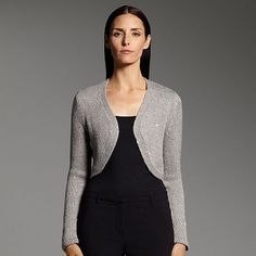 Narciso Rodriguez for DesigNation Sequin Bolero Shrug @ kohls