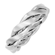 Unique Men's Wedding Band  #wedding #jewelry #platinum