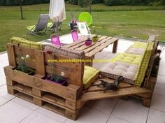 Simple construction of pallets / Simple Pallet Construction: Living