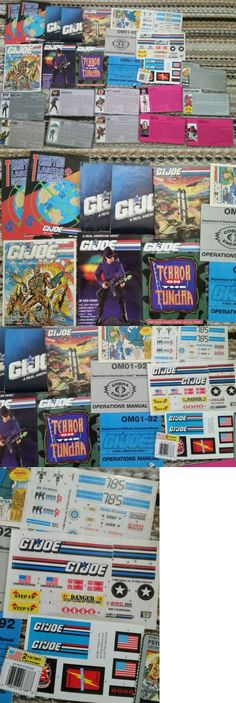 TV Movie and Character Toys 51031: 1987 1991 Gi Joe Order Form, Check List, Sticker Sheets Comic Vintage Booklet -> BUY IT NOW ONLY: $40 on eBay!