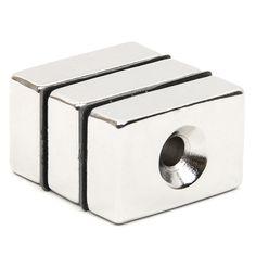 3pcs Block N52 Rectangular Cuboid Magnet Rare Earth Neodymium Permanent Magnet Very Powerful Acoustic Field Speaker Magnet