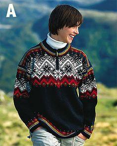 🇳🇴Dale of Norway 🇳🇴Salt Lake 2002 Olympic sweater Nordic Pullover, Nordic Sweater, Ski Sweater, Fair Isle Knitting Patterns, Fair Isle Pattern, Knitting Designs, Norwegian Clothing, Norwegian Style, Norwegian Knitting
