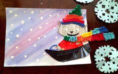 Talvinen askertelutyö tuo väriä ja vauhtia luokkaasi. Kindergarten Art Lessons, School Lessons, Diy And Crafts, Arts And Crafts, Teaching Art, Little People, Art Education, Cool Kids, Winter