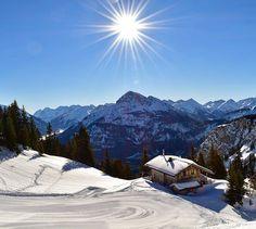 Reuttener Seilbahnen (@rsb_hahnenkamm) • Instagram-Fotos und -Videos Snowboard, Winter, Mount Everest, Magic, Mountains, Instagram, Videos, Nature, Travel