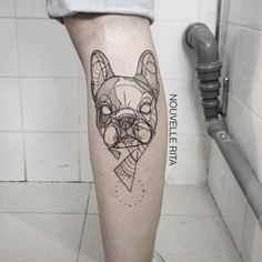 Bull Dog Tattoo